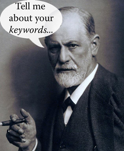 Freud psychoanalysis 'tell me about your keywords'
