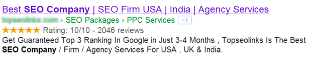 spam reviews in google