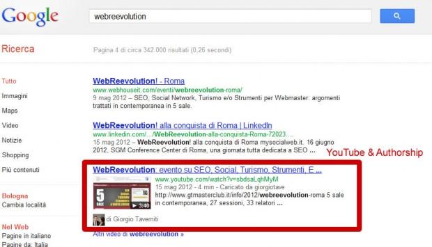 youtube authorship