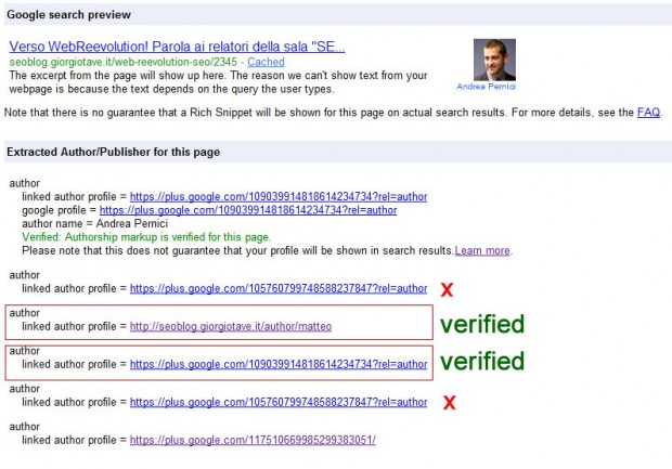 mulit author first verified