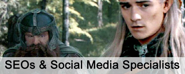 SEOs and Social Media Specialists. The strange couple