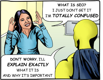 I'm Confused About SEO!