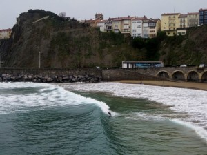 Surfing In the Basque Country