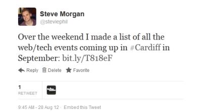 OP2 tweet screenshot