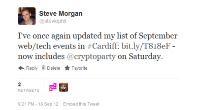 OP6 tweet screenshot