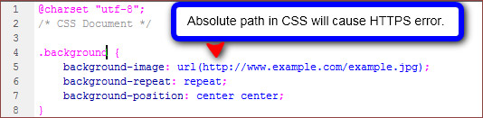 Absolute Path in CSS