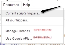 Script Trigger option