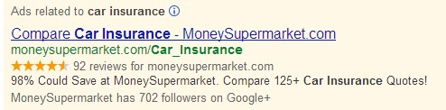 Car Insurance Rich Snippets