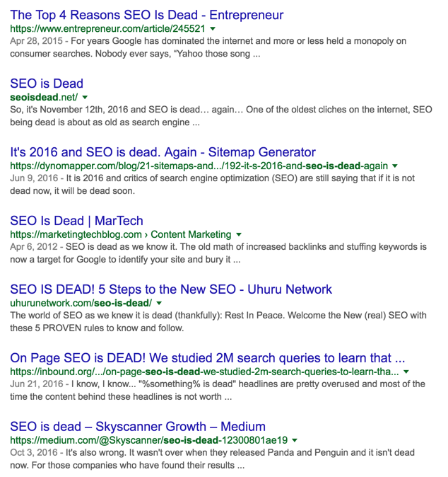 3 Not-So-SEO-Friendly Trends to Watch Out For - Moz