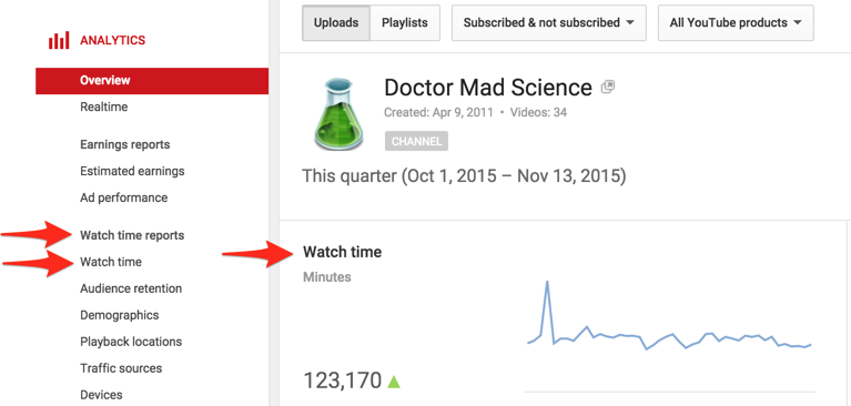 youtube-analytics-watch-time