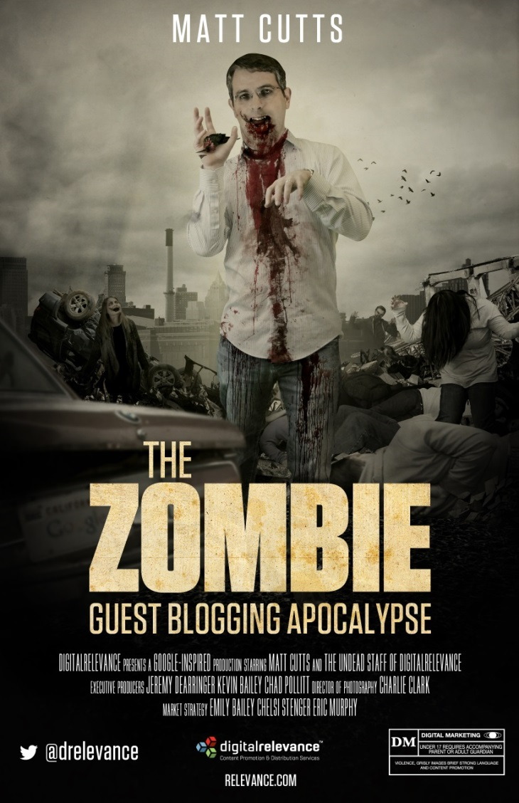 The Zombie Guest Blogging Apocalypse