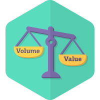 Choose Value over Volume