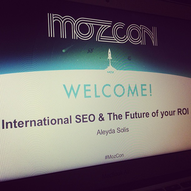MozCon Slides in Preview in Instagram