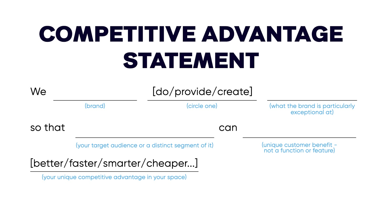 Competitive Advantage in a Commoditized Industry 13