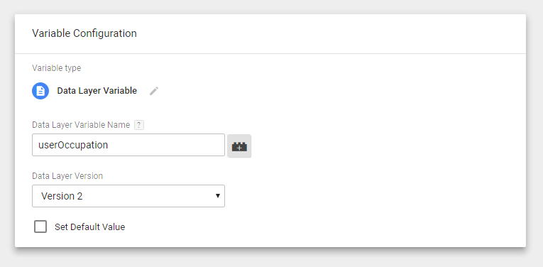 how to use custom variable in google analytics