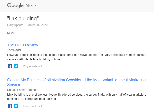 Google Alerts for Link Building: A Quick and Easy Guide 5