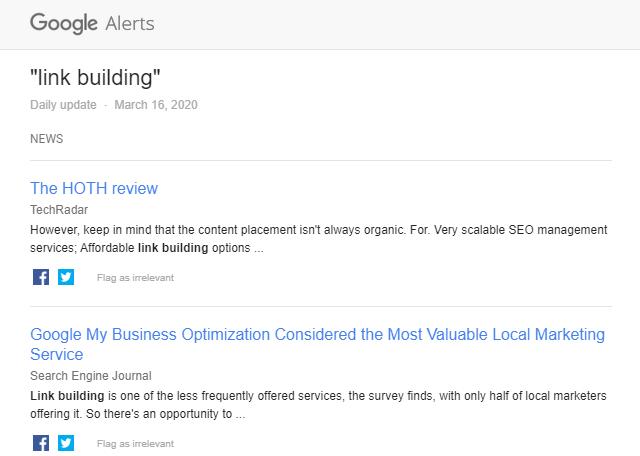 Alertas do Google para Link Building: um guia rápido e fácil 6