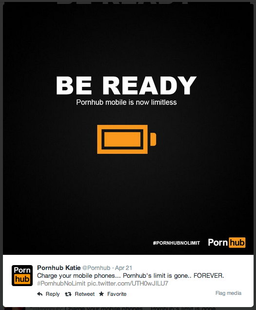 How PornHub Is Bringing Its A-Game (SFW)