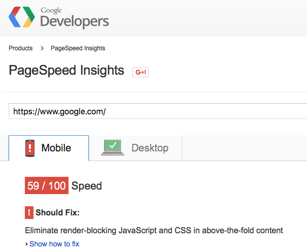 How to Achieve 100/100 with the Google Page Speed Test Tool