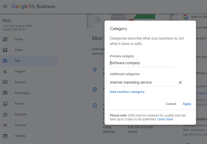 How to Choose Google My Business Categories (With Cool Tools!) 6