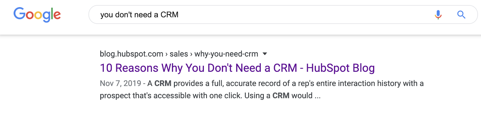 Cadrez votre contenu sous un angle unique qui le différencie des autres résultats de recherche