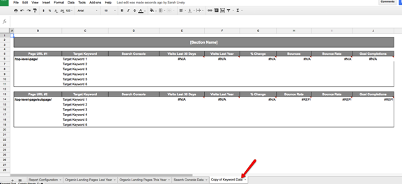 How to Uncover Hidden Keyword-Level Data Using Google Sheets - Moz