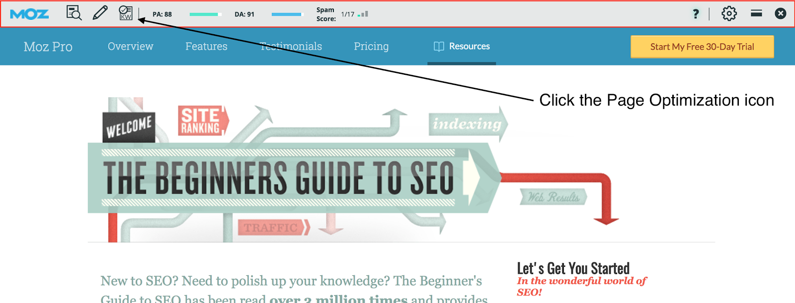 Beginner's Guide To SEO Mozbar.png