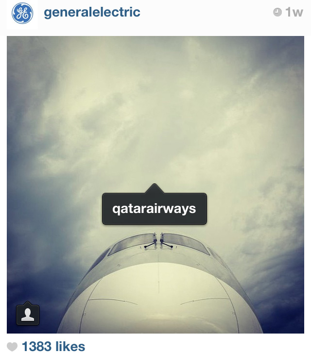 generalelectric using photos of you to notify qatarariways of their photos