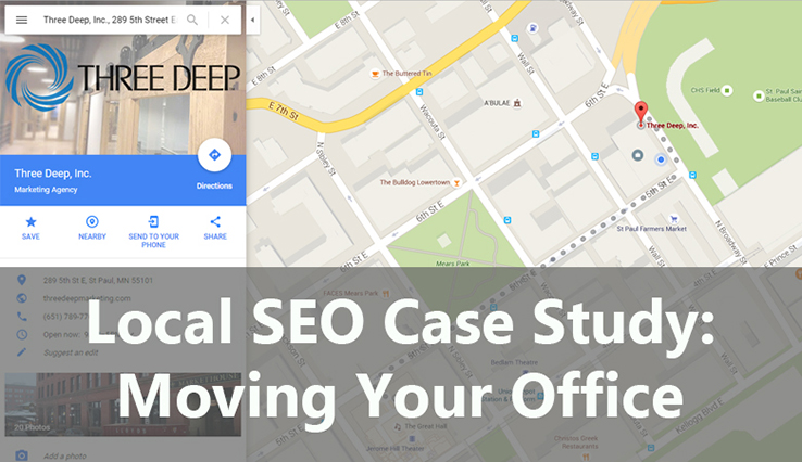 Local SEO Case Study Header