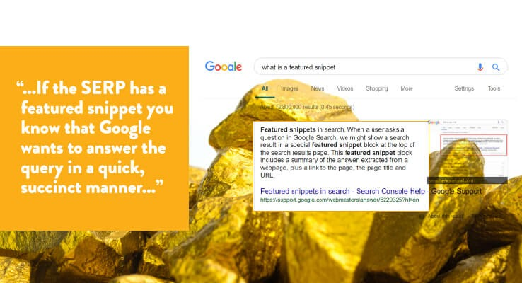 There's Gold In Them Thar SERPs: Mining Important SEO Insights from Search Results 2