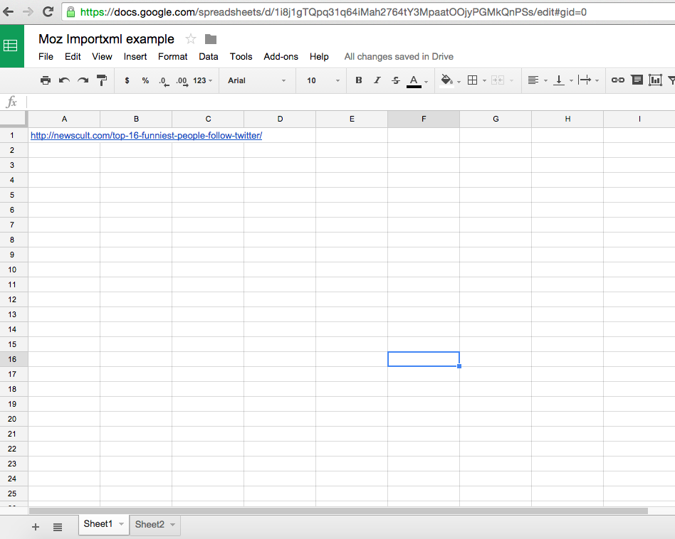 Scraping and Cleaning Your Data with Google Sheets: A Closer