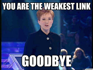 You Are The Weakest Link, Goodbye!