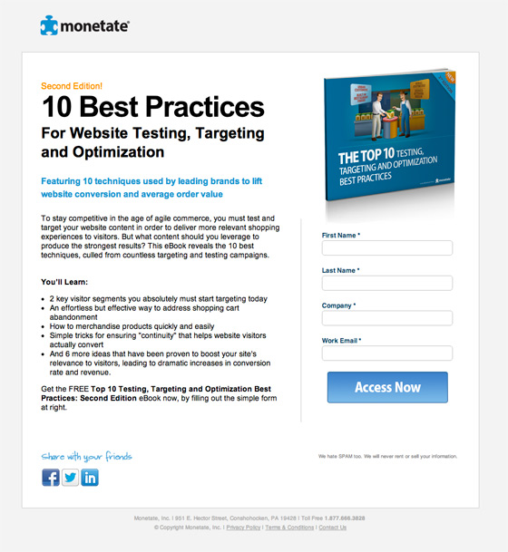 The most entertaining guide to landing page optimization youll ever the ebook download form fandeluxe Images