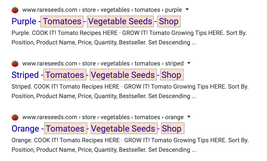 Title Tags SEO: When to Include Your Brand and/or Boilerplate 2