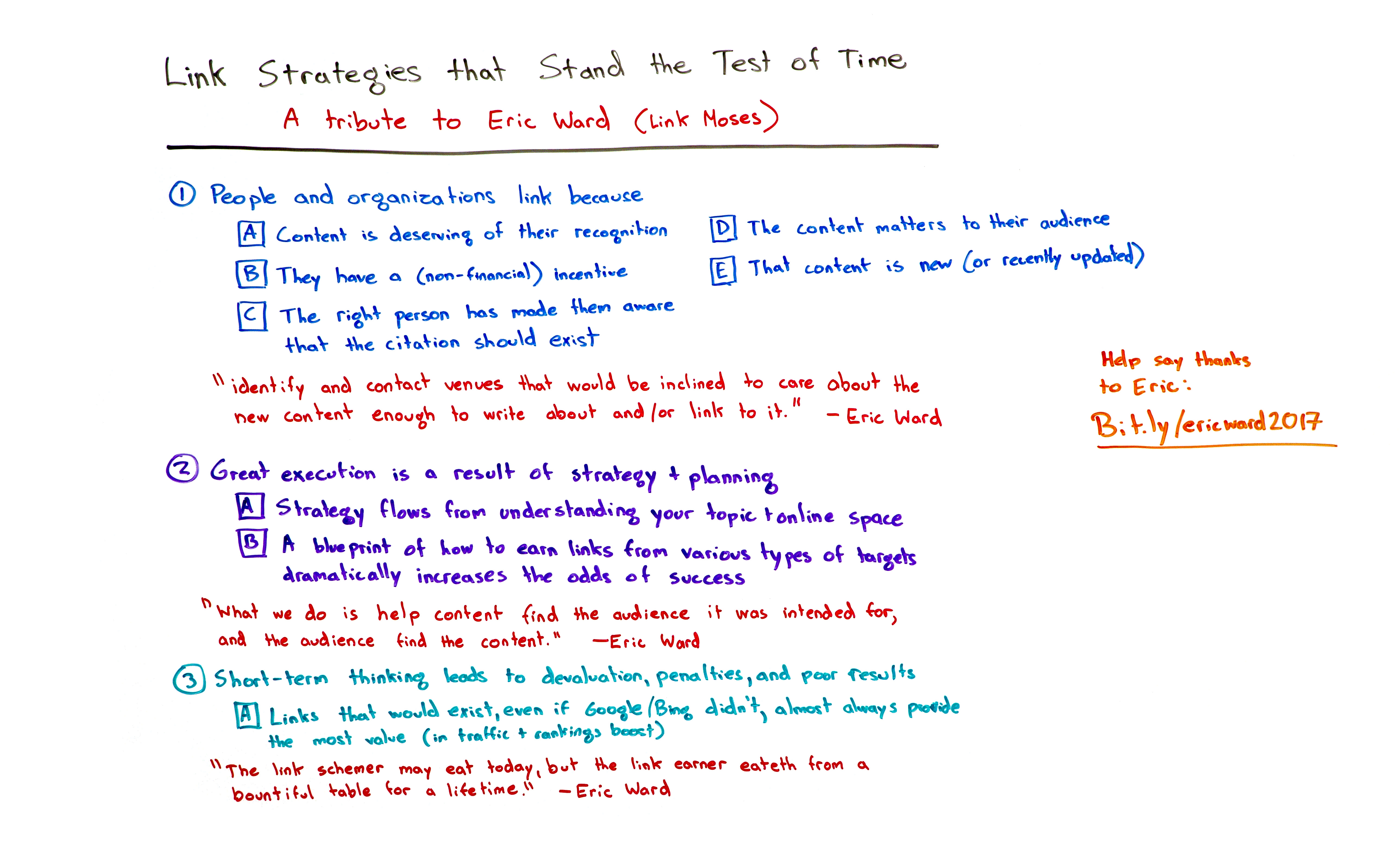 Link strategies that stand the test of time
